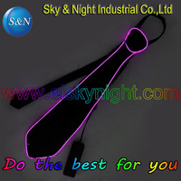 5pcs/Lot 2017 Fashion and Flashing EL tie with Mini controller for Any parties with Free shipping flashing tie led tie blinking