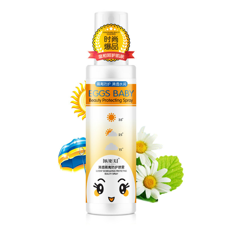 Crystal Sunscreen Spray Clear Moisturizing Sun Protection Spray SPF 50 PA+ Sunblock Spray UV Protection Sun Cream for Body 150ml инфракрасный теплый пол sun power film spf 50 180 7