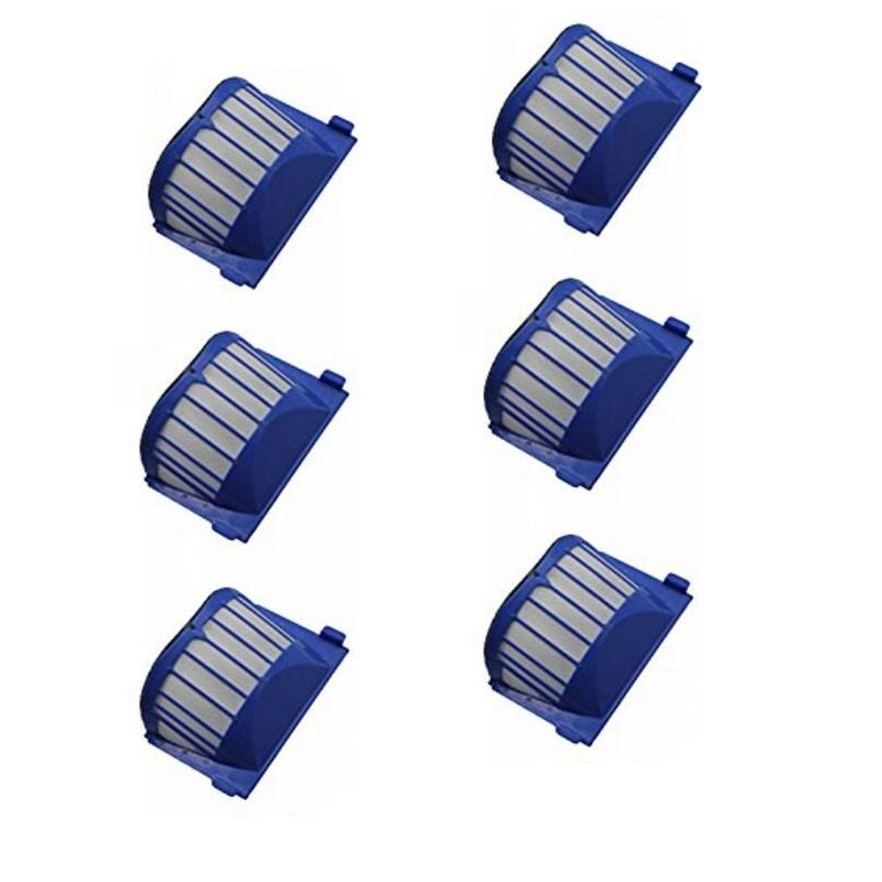 6X Aero Vac Filters for iRobot Roomba 620 630 650 robots with an AeroVac Bin brand new total 16 pcs 10x aerovac filters