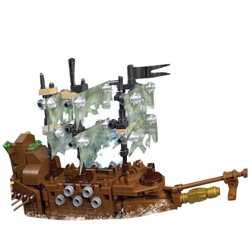 Diversion 03058 Лепин 4 компл./лот фильм серии 4 в 1 черный жемчуг Queen Анны reveage slient Мария корабль набор строительных Конструкторы