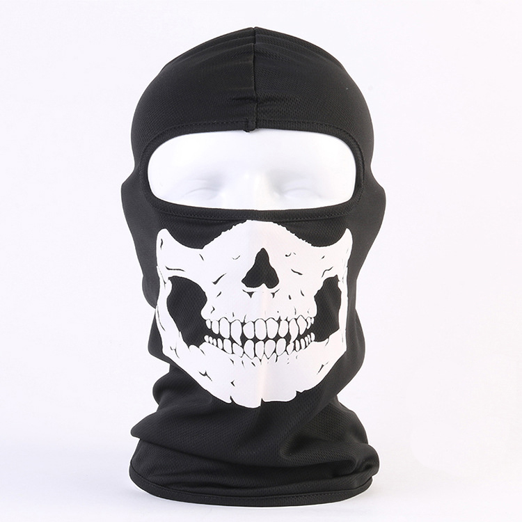 Winter Sports Sporting Goods Ghost Biker Skull Hood Face Mask Motorcycle Ski Balaclava