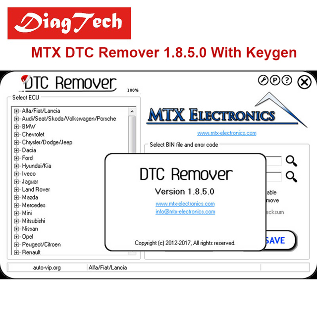 US $4 0 |2017 MTX DTC Remover 1 8 5 0 with keygen 6 Language + Video+ 5  Extra ECU Tuning Software GIfts Car ECU Fault Code Remover-in Software from