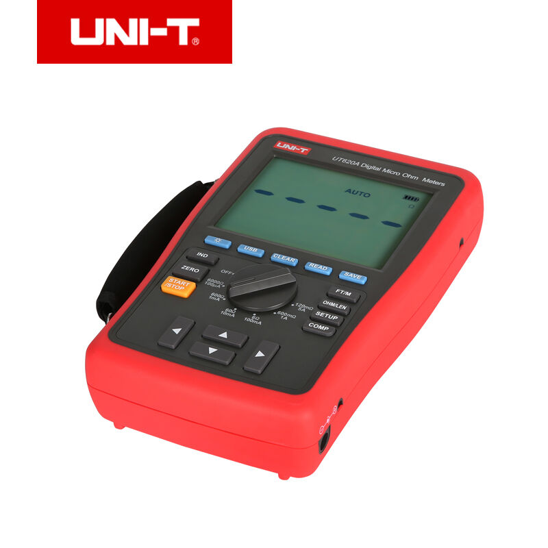 UNI T UT620A цифровой микроомметр; ручной диапазон DC низкое сопротивление тестер, хранение данных/USB Передача данных/хранение данных