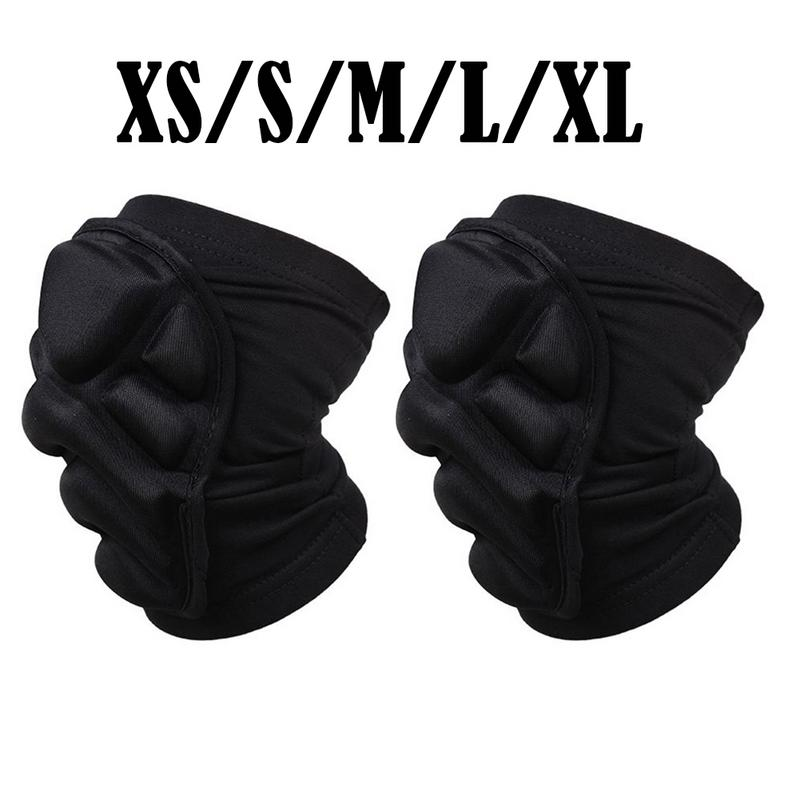 Temperate Motorcycle Knee Pads Bicycle Knee Protector Protective Guards Moto Knee Brace Support Mtb Ski Protective Gear Black