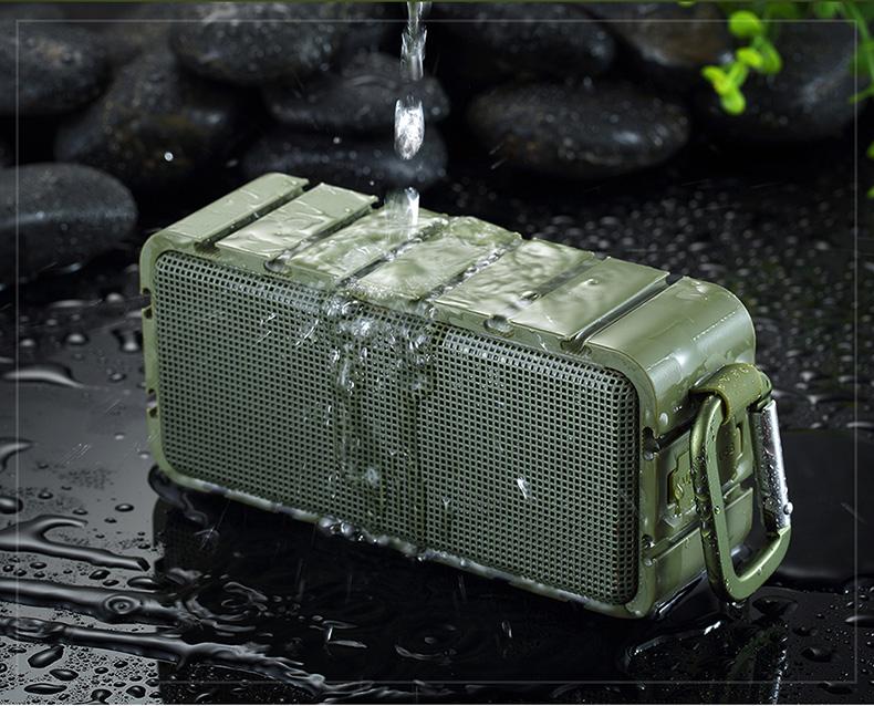 Bluetooth speaker waterproof portable speakers wireless subwoofer card outdoor blue tooth speakers full range soundbar tweeter 25