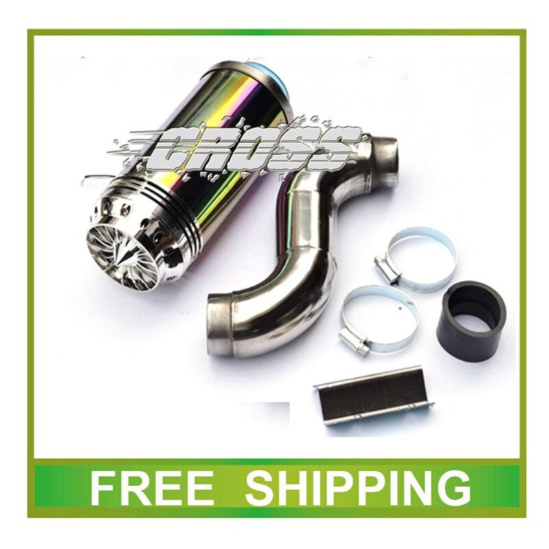 Universal <font><b>GY6</b></font> scooter 50cc 125cc 150cc scooter JOG RSZ R5 R9 jog rsz air filter colorful <font><b>led</b></font> 38 42mm accessories Free Shipping
