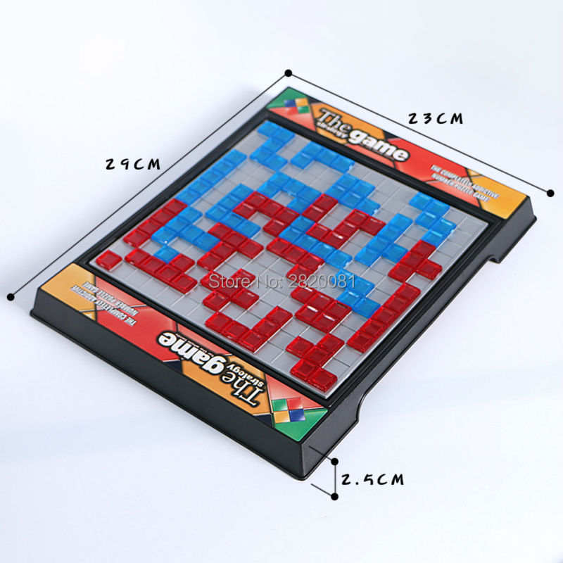 The strategy game whole family funny game,2 player puzzle&eduactional chess Blokus toys challenge game for children-parent