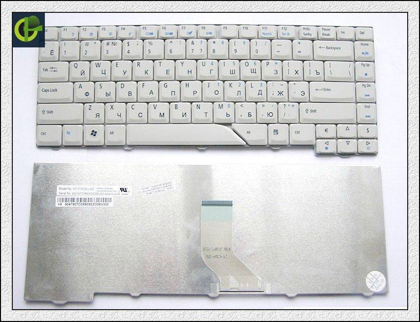Clavier russe pour Acer Aspire 5715 5715Z 5720G 5720Z 5720ZG 5910G 5920Z 5920G 5920ZG 5930G 5950G gris RU clavier d'ordinateur portable