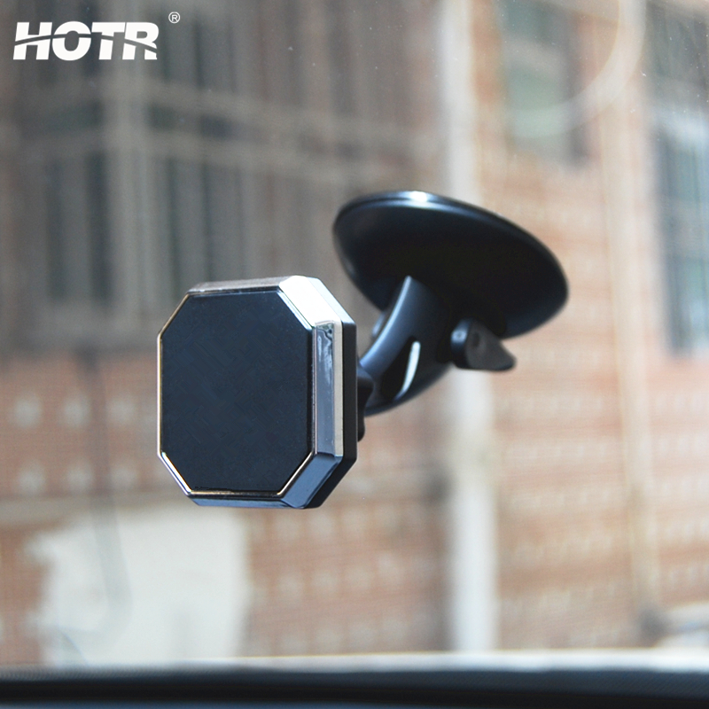 Universal Magnetic Car Holder Windshield Car Phone Holder Magnet Stand Mount Support GPS Display Bracket 360 Rotatable Holder