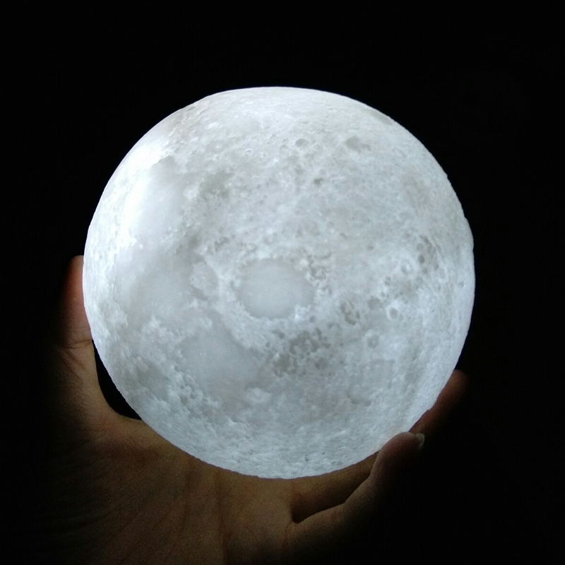 3D Moon Lamp Home Decor Night Light Creative Gift Toys For ...