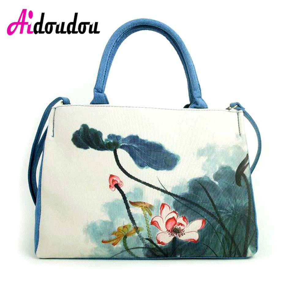 2018 Fashion Folding Women Big Size Handbag Tote Ladies Casual Flower Printing Canvas Shoulder Bag Beach Bolsa Feminina платье blukids blukids bl025egvya65