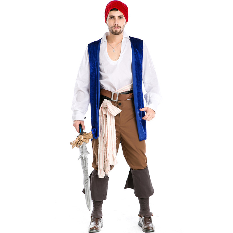 pirate costume adult male men pirates of the caribbean women jack sparrow costume adult halloween costumes for men adult horror