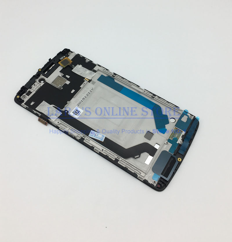 Tested Work For LENOVO K4 Note A7010 LCD Display With Frame Touch Panel Digitizer Assembly Repalcement Parts