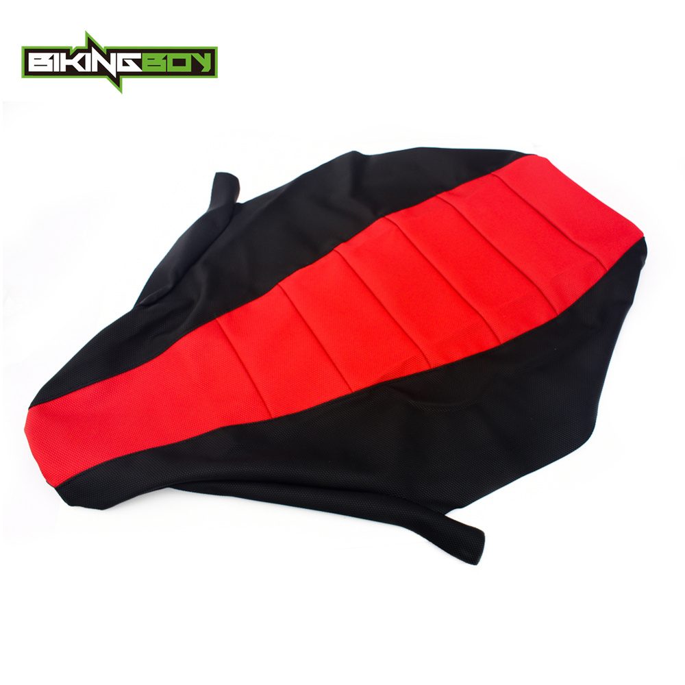 BIKINGBOY ATV Quad Gripped Gripper Soft Seat Cover For Honda TRX 450 R TRX450R 2004 2005 2006 2007 2008 2009 2010 2011 04-11(China)