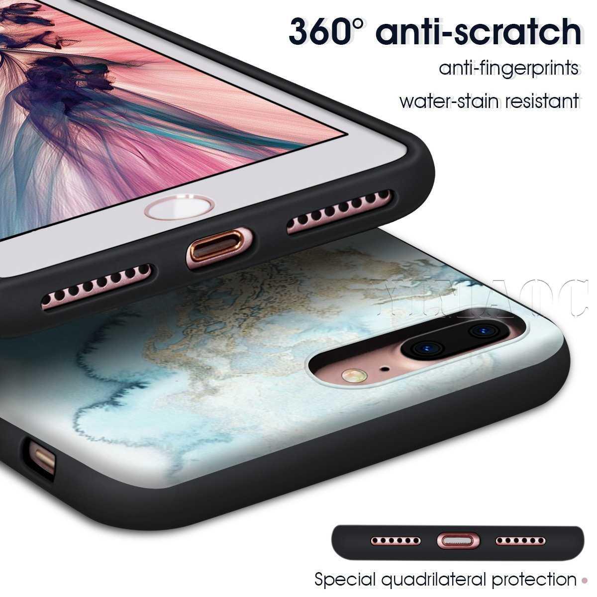 Силиконовый мягкий чехол для iPhone 11 Pro XS Max XR X 8 7 6 6S Plus 5 5S SE