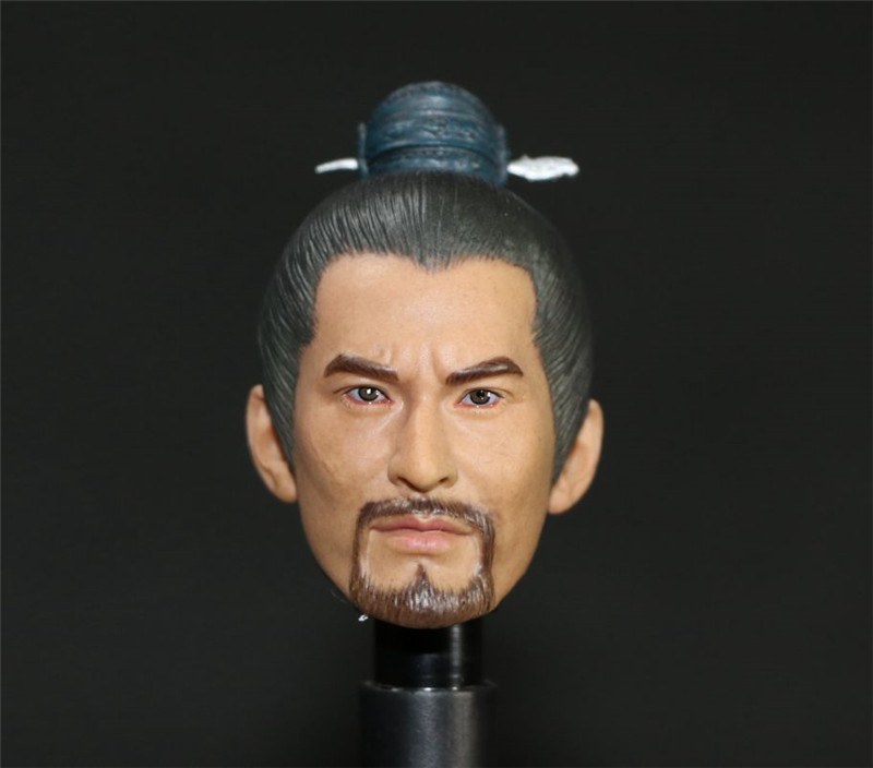 Mnotht Toy 1/6 Scale Yue Fei Headplay Huang Xiao Ming Head Sculpt Action & Toy Figures Toys & Hobbies l30 1 toy т58754