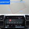 QCBXYYXH Auto Styling GPS Navigation Bildschirm Glas Schutz Film Für Citroen C5 Aircross Control von LCD Screen Auto Aufkleber