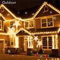 Chegam novas Luzes Do Projetor, à prova d' água interior/paisagem ao ar livre led estrelado estrela projetor show de luzes para festa de natal