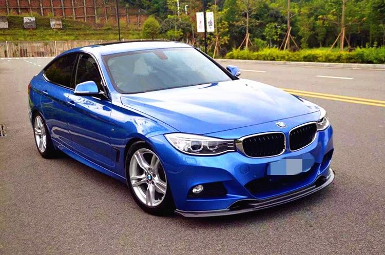 2014 BMW 335I >> 3 SERIES F34 GT FRONT LIP 3D STYLE CARBON FIBER FRONT LIP ...