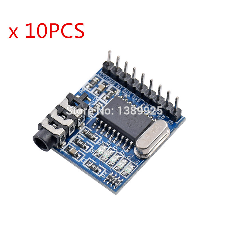 10pcs/lot DTMF MT8870 Voice Decoding Module Phone Module