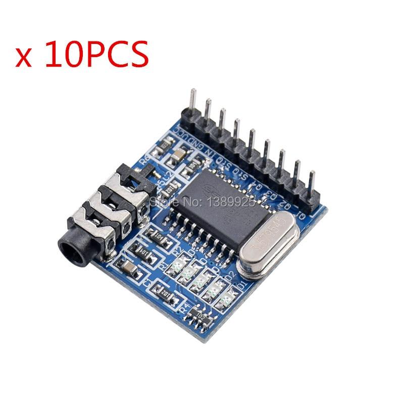10pcs/lot DTMF MT8870 Voice Decoding Module Phone Module