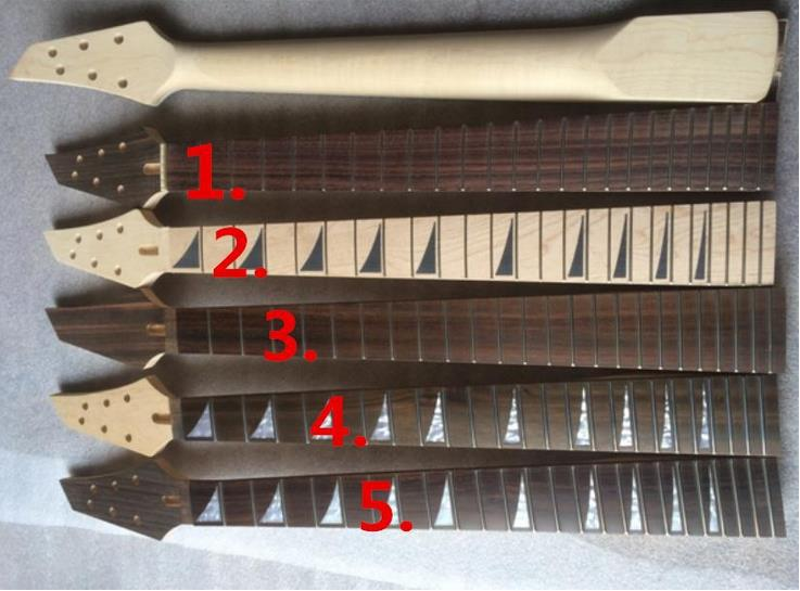 ФОТО G1 0001 Top quality 24 Fret Maple Electric Guitar Neck Rosewood Fingerboard Guitar Parts Musical instruments accessories