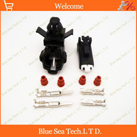 10 Sets 2Pin 2 2mm Auto Connector Car Waterproof Electrical Connector For Nissan QASHQAI Free Shipping