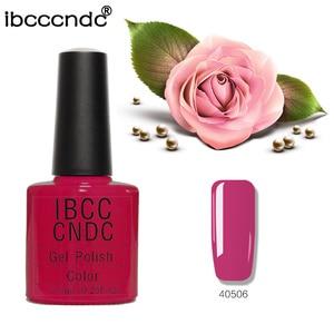 7.3ml/Pcs 79 Colors IBCCCNDC Nail Gel Polish Varnish Shining Long-lasting Soak off LED UV Lamp Nail Art Tools 40506