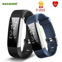 RACAHOO Mini Bluetooth Smart Bracelet Ou Door Sport Heart Rate Sleep Monitoring Fitness Tracker Wristband With