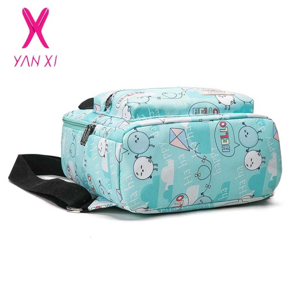 e59507eca YANXI 2017 nueva venta caliente bolsas de escuela para adolescentes Pop  Quiz mochila masculino y femenino genérico de alta calidad de la lona de las  mujeres ...