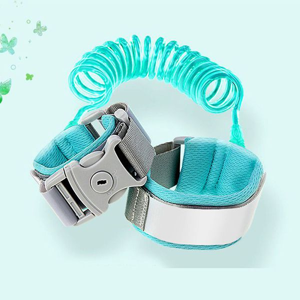 New Upgrade Anti Lost Wrist With Safety Baby Strap Rope Children Walking Hand Belt Band 12