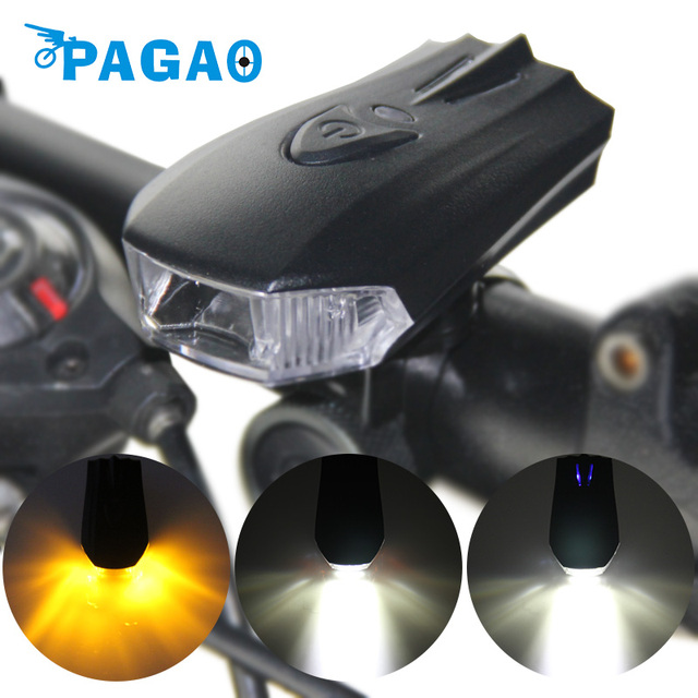 Bicycle Smart Head Light Bike Intelligent Front Lamp USB Rechargeable Handlebar LED Lantern Flashlight Movement Action Sens 0143