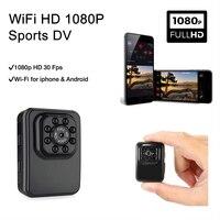 Mini HD 1080P DV Video Recorder Wireless WiFi IP Camera Night Vision Cameras DVR Camcorder Support