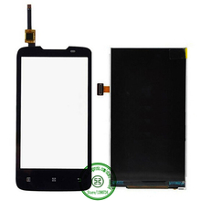 New High Quality Black Outer Glass Touch Screen Digitizer LCD Display Panel For Lenovo A820 Replacement