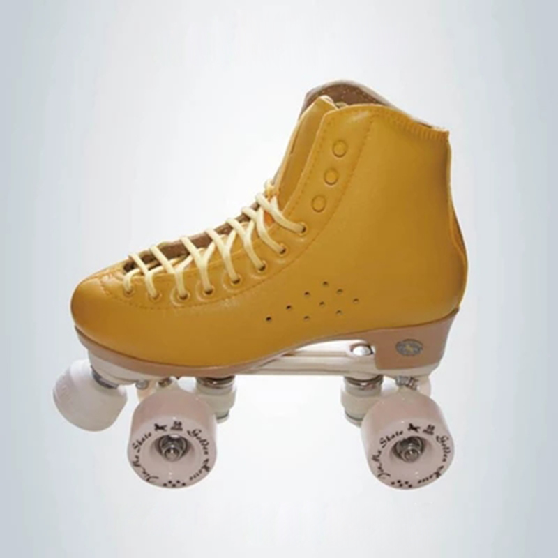 Children Adult Parenting Two Line Roller Skating Shoes Double Row Skates Kids 4 PU Wheels High Grade PVC Leather Unisex IB48 children adult parenting two line roller shoes skating 4 wheels double row skates patins kids pu wheels adjustable unisex ib42