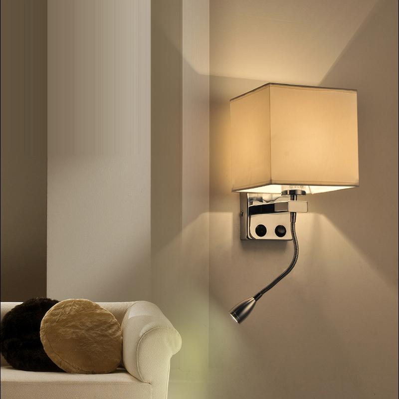 led sconce Luxury Wall Sconce Lighting European style wall lights mirror front lamp bedside lamps dining room Wall lamp bedroom