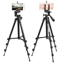 Portable Mobile Phone Tripod Stand Holder Universal Camera Tripod For iPhone Samsung Canon Nikon DSLR Camera Aluminum Tripode