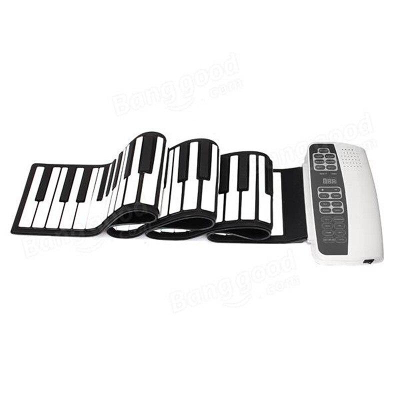 DoReMi S-88 Silicone professionnel Flexible 88 touches enroulables Piano avec clavier MIDI pour les amateurs d'instruments de musique