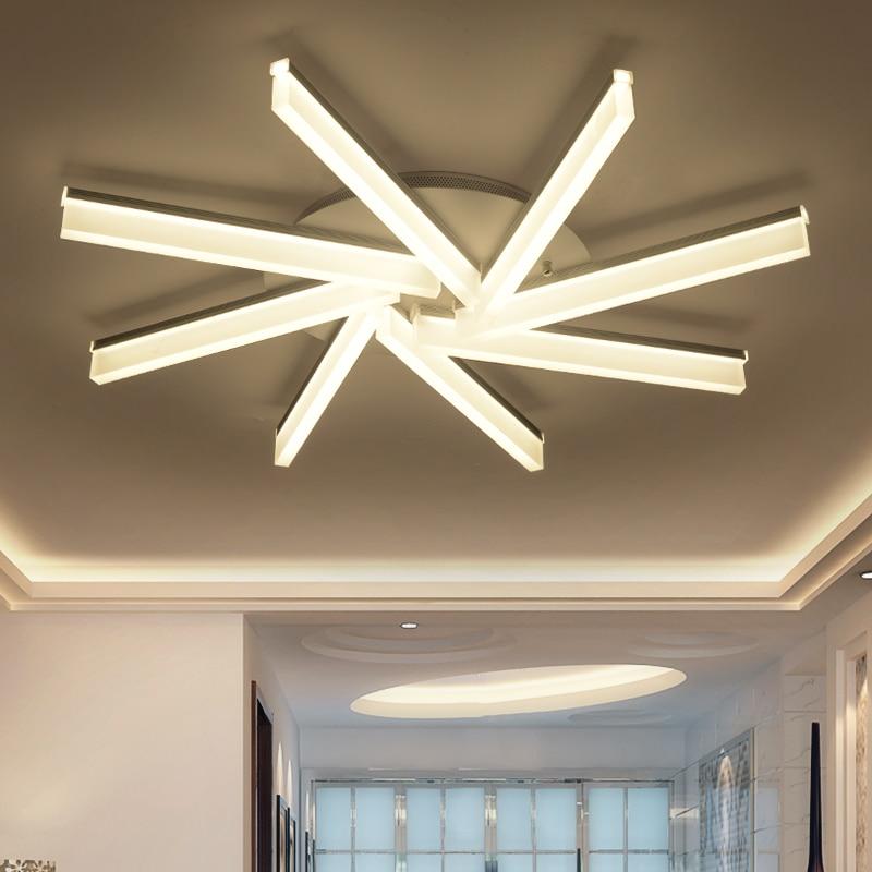 A1 новая мода светодиодный лампы солнечного гостиная потолочный светильник современный минималистский спальня лампа моды творческой ZA FG494