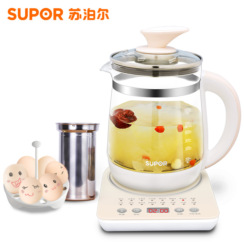 Hervidor Agua Electrico Health Pot Automatic Thickening Glass Electric Kettle Boiling Flower Tea Pot Boiling Pot Black Tea Tea 1