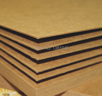Size A4 Recycled Kraft Card Chipboard Paper Cardstock Heavy 1.2mm Cardboard For Craft Cardmaking 1/5/10/20 You Pick