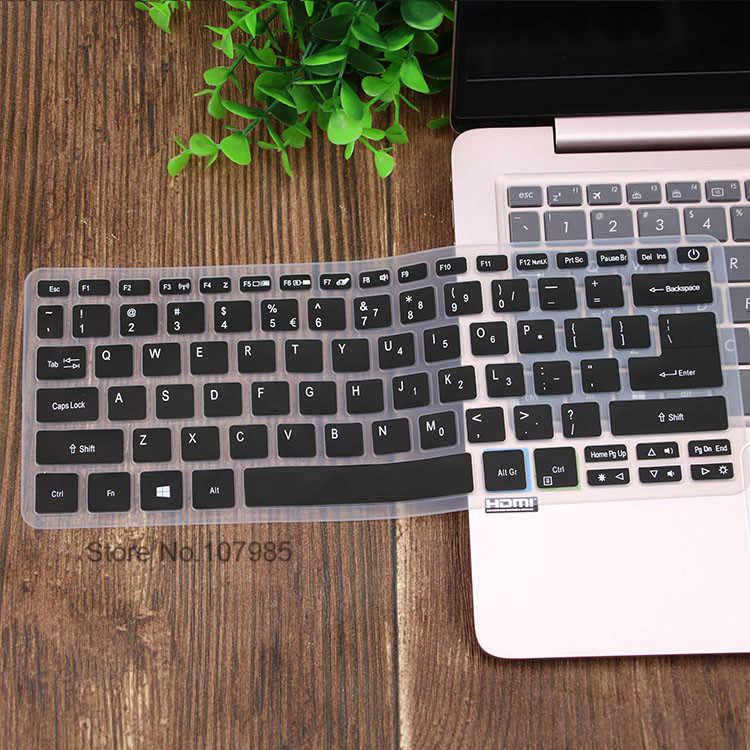 סיליקון מקלדת כיסוי עור מגן משמר עבור Acer סוויפט 3 SF314-52 SF314-54/סוויפט 1 SF114-32 14 אינץ i5 8250U מחברת