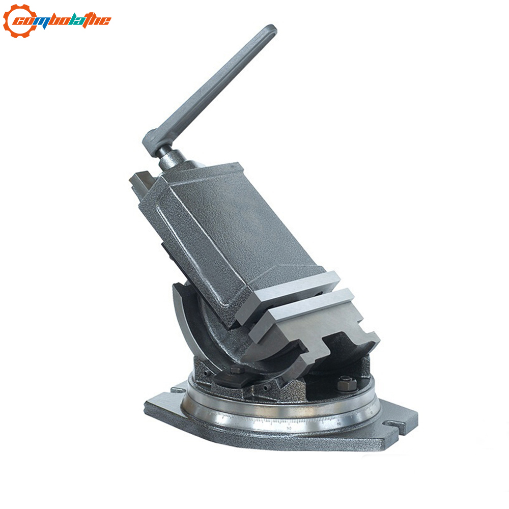 High Quality Of Angle Tilting Machine Vise 4'' 100mm For Drilling Milling Machine