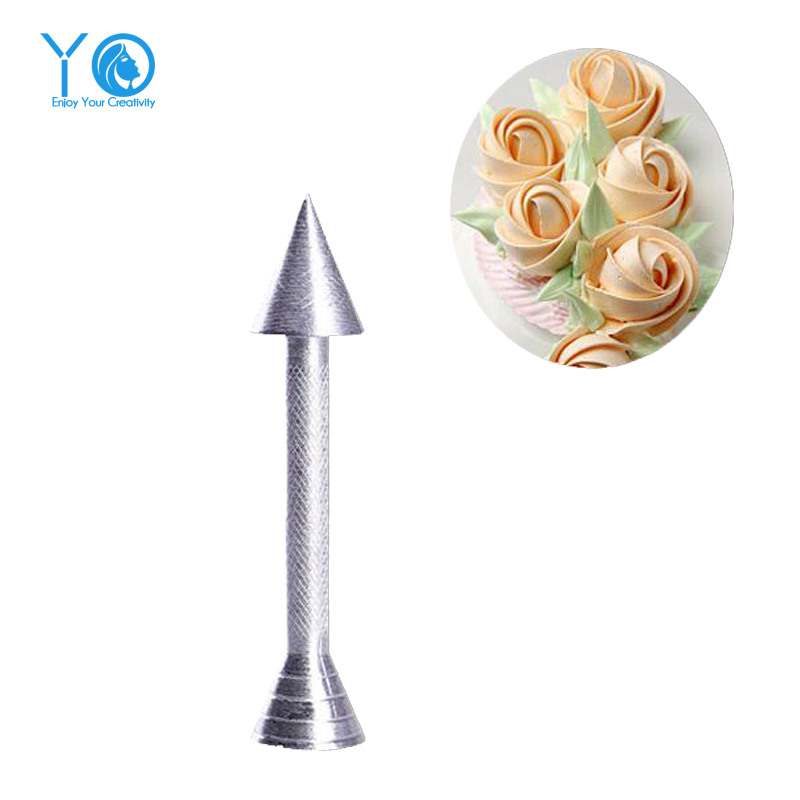 Rose Nail For Cake Decorating: 1pcs Rose Decorating Nail Aluminum Alloy Decorating Needle