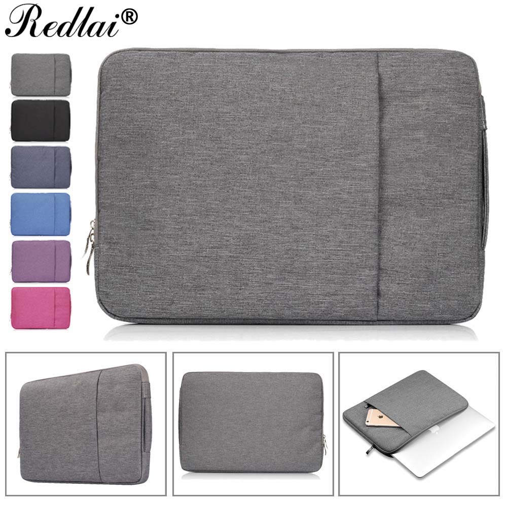 Notebook Laptop Sleeve Case For Macbook Air 11 12 13 Pro 13 15 Retina 13 15 Unisex Liner Handbag For Mac Pro 13 15 Touch bar