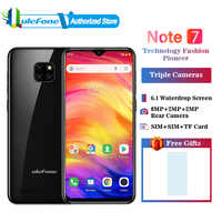Ulefone Note 7 Smartphone 3500mAh 19:9 Quad Core 6.1 Waterdrop Screen 16GB ROM Mobile phone Cellphone Android 9.1