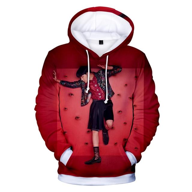 Frdum Tommy BTS Love Yourself Answer 3D Hoodies  Hip Hop Women  Kpop Idol Fashion Hot Selling Bangtan Boys  Women Fans