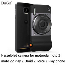 hasselblad camera for motorola moto Z3 Play Z Droid Z2 Force Z Play Z phone original moto mods Magnetic adsorption free shipping(China)