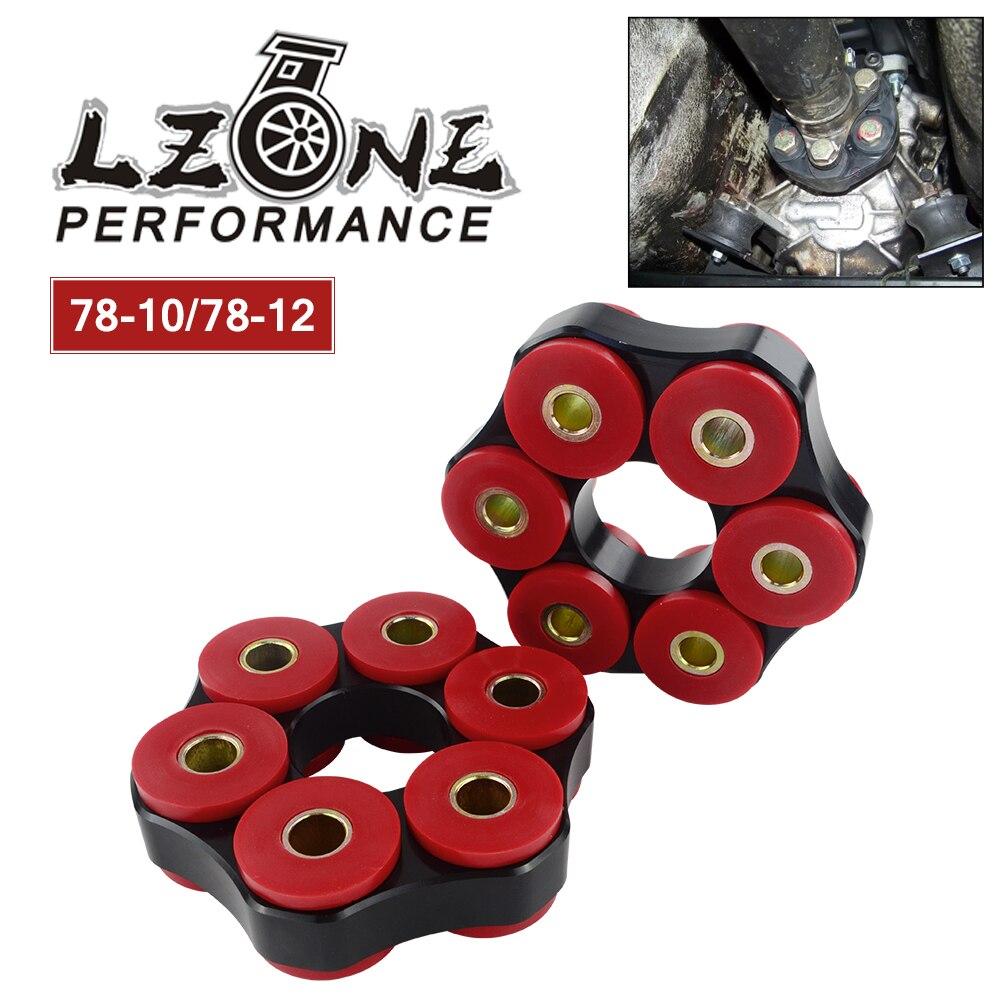 LZONE - Drive Shaft Flex Disc LK=78mm/12mm or LK=78mm/10mm For BMW E30 E36 E39 E46 JR-FDP01/02LZONE - Drive Shaft Flex Disc LK=78mm/12mm or LK=78mm/10mm For BMW E30 E36 E39 E46 JR-FDP01/02