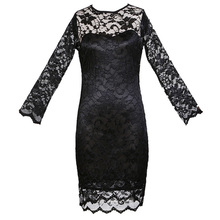 2018 Summer Bodycon Peplum Flower Lace Dress Floral Vestidos Slash o-neck Sexy Short Evening Women Party Dress Mini Clothing XXL